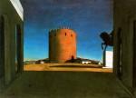 Живопись | Джорджо де Кирико | Красная башня, 1913