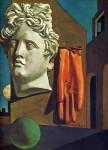 Живопись | Джорджо де Кирико | Песнь любви, 1914