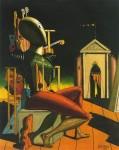 Живопись | Джорджо де Кирико | Предсказатель, 1916