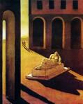 Живопись | Джорджо де Кирико | Пьяцца д'Италия: Меланхолия, 1912