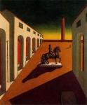 Живопись | Джорджо де Кирико | Пьяцца д'Италия с конной статуей