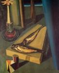Живопись | Джорджо де Кирико | Святая рыба, 1919