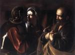 Живопись | Караваджо | Отречение святого Петра, 1610