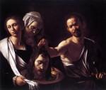 Живопись | Караваджо | Саломея с головой Иоанна Крестителя, 1607
