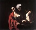 Живопись | Караваджо | Саломея с головой Иоанна Крестителя, 1609