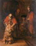 Живопись | Рембрант | Возвращение блудного сына, 1669