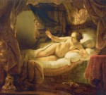 Живопись | Рембрант | Даная, 1643