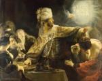 Живопись | Рембрант | Пир Валтасара, 1635