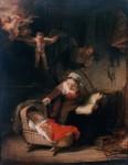 Живопись | Рембрант | Святое Семейство, 1645
