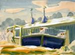 Живопись | Charles Ephraim Burchfield | Bandstand, 1918