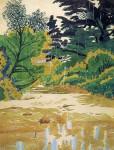 Живопись | Charles Ephraim Burchfield | Rain Drops, 1916