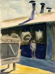 Живопись | Чарльз Бёрчфилд | Субботний полдень, 1918