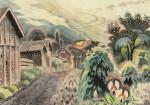 Живопись | Чарльз Бёрчфилд | Горошинка настроения, 1917