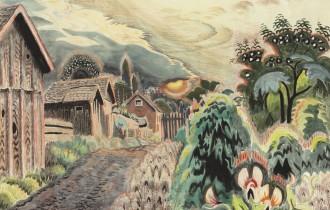 Чарльз Бёрчфилд: «триповый» художник