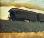 Живопись | Edward Hopper | Railroad Train, 1908