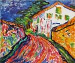 Живопись | Эрих Хеккель | Белый дом в Дангасте, 1908
