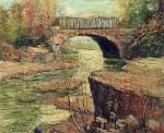 Живопись | Эрнест Лоусон | Aqueduct At Little Falls, New Jersey