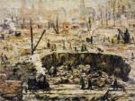 Живопись | Ernest Lawson | Excavation - Penn Station, 1906