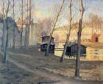 Живопись | Ernest Lawson | Moret Sur Loing, 1895
