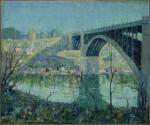 Живопись | Эрнест Лоусон | Spring Night, Harlem River, 1913