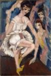 Живопись | Эрнст Людвиг Кирхнер | Dancer, 1914