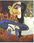 Живопись | Эрнст Людвиг Кирхнер | English Dance Couple, 1913