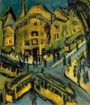 Живопись | Эрнст Людвиг Кирхнер | Nollendorfplatz, 1912