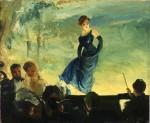 Живопись | Everett Shinn | Concert Stage, 1905