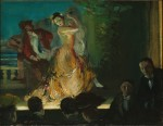 Живопись | Everett Shinn | Spanish Music Hall, 1902