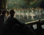 Живопись | Everett Shinn | The White Ballet, 1904