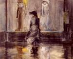 Живопись | Эверетт Шинн | Window Shopping, 1903