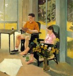 Живопись | Fairfield Porter | Iced Coffee, 1966