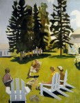 Живопись | Fairfield Porter | July, 1971