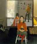 Живопись | Fairfield Porter | The Mirror, 1966