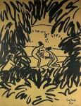 Живопись | Fritz Bleyl | Badende, 1919