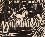 Живопись | Fritz Bleyl | Kundschafter, 1923