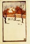 Живопись | Fritz Bleyl | Winter (hiver), 1905