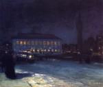 Живопись | Джордж Лакс | Copley Square, 1904