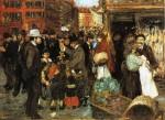 Живопись | George Luks | Hester Street, 1905