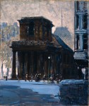 Живопись | George Luks | King's Chapel, Bostonn, 1923
