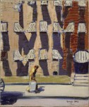 Живопись | Джордж Лакс | Noontime, St. Botolph Street, Boston, 1928