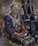 Живопись | Ivan Albright | The Farmer's kitchen, 1934