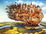 Живопись | Jacek Yerka | The City is Landing