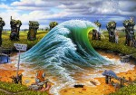 Живопись | Jacek Yerka | The Private Wave