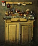 Живопись | Jacek Yerka | Twilight In The Cupboard