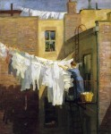 Живопись | Джон Френч Слоун | A Woman's Work, 1912
