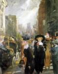 Живопись | John French Sloan | Fifth Avenue, New York, 1911
