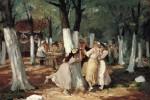 Живопись | John French Sloan | The Picnic Grounds, 1906
