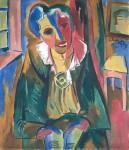 Живопись | Карл Шмидт-Ротлуф | Доктор Роза Шапире, 1919