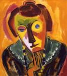 Живопись | Карл Шмидт-Ротлуф | Портрет Эми, 1919